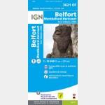 Belfort/Montbeliard/Hericourt/Aire Urbaine 2000  (Club Vosgien)