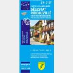 Selestat/Ribeauville/Haut-Koenigsbourg/Pnr des Ballons des Vosges  (Club Vosgien)