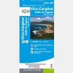 Vico/Cargese/Golfe de Sagone (Gps)