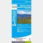 Monte-D'Oro/Monte-Rotondo/Pnr de la Corse (Gps)