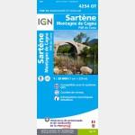 Sartene/Montagne de Cagna/Pnr de la Corse (Gps)