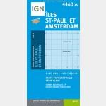 Série Bleue IGN - Îles St-Paul et Amsterdam - Recto