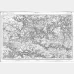 Carte de l'état-major  - Feuille 49 MEAUX - Taille Douce