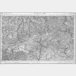 Carte de l'état-major  - Feuille 58 MORLAIX - Taille Douce