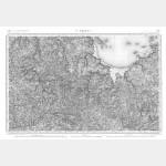 Carte de l'état-major  - Feuille 59 ST-BRIEUC - Taille Douce
