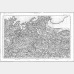 Carte de l'état-major  - Feuille 60 DINAN - Taille Douce