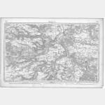 Carte de l'état-major  - Feuille 65 MELUN - Taille Douce