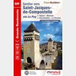 FFR Sentier vers Saint-Jacques-de-Compostelle : Figeac / Moissac (652)