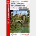 FFR - 6543 - Sentier vers Saint-Jacques-de-Compostelle : Périgueux - Roncevaux