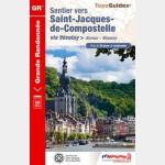 Sentier vers Saint-Jacques-de-Compostelle - Recto