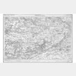 Carte de l'état-major  - Feuille 66 PROVINS - Taille Douce