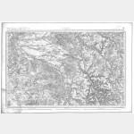 Carte de l'état-major  - Feuille 68 WASSY - Taille Douce