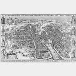 Plan de Paris en 1618 (Offset)