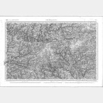 Carte de l'état-major  - Feuille 73 CHÂTEAULIN - Taille Douce