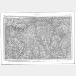 Carte de l'état-major  - Feuille 74 PONTIVY - Taille Douce