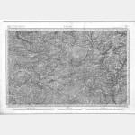 Carte de l'état-major  - Feuille 76 LAVAL - Taille Douce