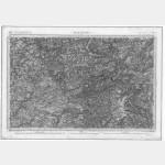 Carte de l'état-major  - Feuille 77 MAYENNE - Taille Douce