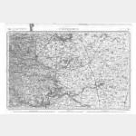 Carte de l'état-major  - Feuille 79 CHÂTEAUDUN - Taille Douce