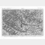 Carte de l'état-major  - Feuille 7 ARRAS - Taille Douce