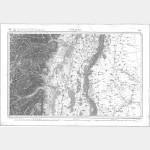 Carte de l'état-major  - Feuille 86 COLMAR - Taille Douce