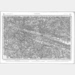 Carte de l'état-major  - Feuille 89 VANNES - Taille Douce