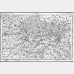 Carte de l'état-major  - Feuille 8 DOUAI - Taille Douce
