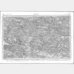 Carte de l'état-major  - Feuille 90 REDON - Taille Douce