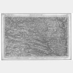 Carte de l'état-major  - Feuille 91 CHÂTEAU-GONTIER - Taille Douce