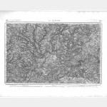 Carte de l'état-major  - Feuille 92 la FLÊCHE - Taille Douce
