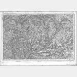Carte de l'état-major  - Feuille 93 LE MANS - Taille Douce