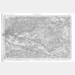 Carte de l'état-major  - Feuille 95 ORLEANS - Taille Douce