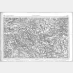 Carte de l'état-major  - Feuille 97 TONNERRE - Taille Douce