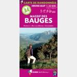 Rando éditions - A4 - Massif des Bauges