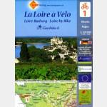 LA LOIRE A VELO (carte Eurovélo n°1 : Atlantique>Angers)