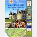 Carte michelin - n°3 - Eurovélo - LA LOIRE A VELO (Blois > Belleville sur Loire)