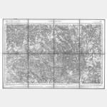 Carte de l'état-major  - Feuille 98 CHATILLON - Taille Douce