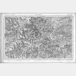 Carte de l'état-major  - Feuille 99 LANGRES - Taille Douce