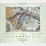 Carte ancienne - Aiguille Verte (Offset)