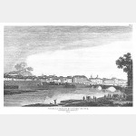 NICE vue de la ville et du château - 28 mars 1796