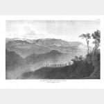 MONTE-NOTTE vue des hauteurs - 12 avril 1796