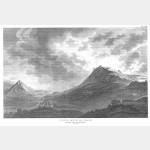 COSSERIA vue du château investi par les troupes du Général Augereau - 13 avril 1