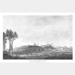 LONATO vue de la ville et du château - 3 août 1796