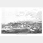 LAVIS vue du village sur la rivière du même nom - 5 septembre 1796