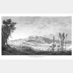 RIVOLI vue du bassin entre les Monts Corona et Pipolo - 14 janvier 1797