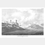 IVREE vue de la ville et de la citadelle - 21 mai 1800