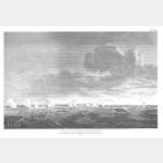 MARENGO vue de la bataille 1er engagement franco-autrichien - 14 juin 1800