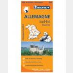 Carte Michelin - Régionale Allemagne Sud-Est / 2013