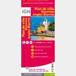 Plan de Bayonne Anglet Biarritz