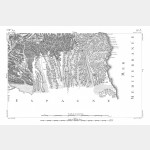 Cartes de Cassini n°59 et 59 bis - Perpignan / Bellegarde - Impression Offset