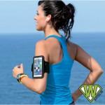 Brassard sport pour smartphone - 4 couleurs